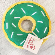 No-Stuffing Donut Dog Toy