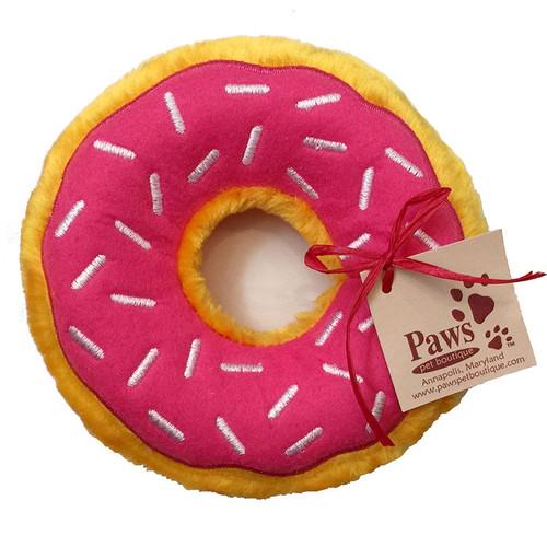 No-Stuffing Pink Dog Toy
