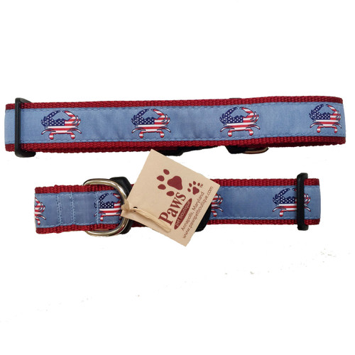 American Flag Crab Collars