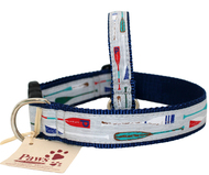 Coastal Oar Dog Collars Made in USA