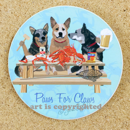 Crabs and Cattle Dogs make Paws for Claws