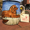 Ruby Cavalier King Charles Spaniel Hand-painted Mug