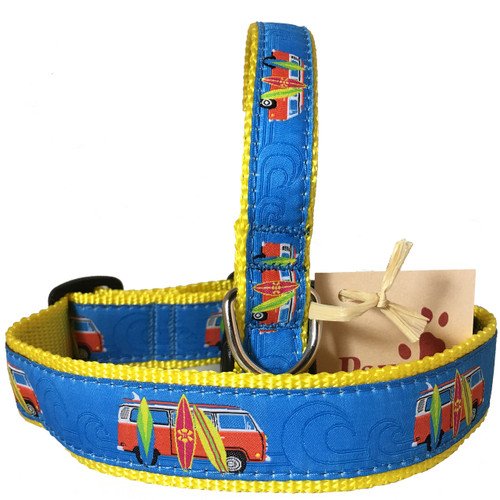 Surfboard Dog Collars for Beach Dogs