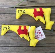 State of Maryland Crab Cat Toys
