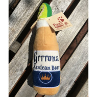 Grrrona Beer Plush Dog Toy