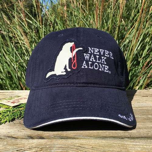 Never Walk Alone Dog Hat