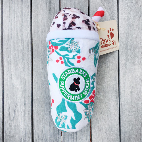 Starbarks Puppermint Mocha Dog Toy