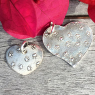 Paws on Your Heart Charms in 2 Sizes
