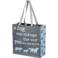 A Dog Can Change the Way You See the World Tote Bag