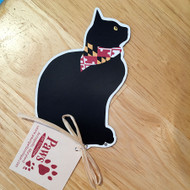 Maryland Flag Cat Magnet