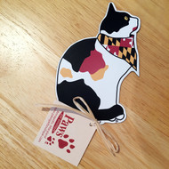 Maryland Flag Calico Cat Magnet