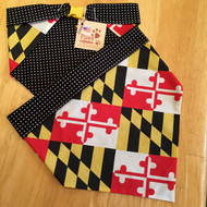 Maryland Flag Pet Bandanas