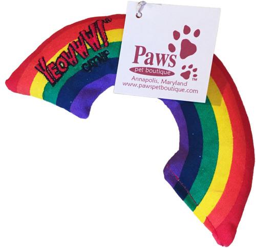 Organic Catnip Rainbow Toy