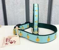 Tropical Pineapple Dog Collars