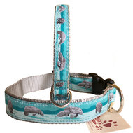 Nautical Dog Collar, Beach Dog Collar and Coastal Dog Collars