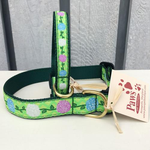 Hydrangea Dog Collars made in USA