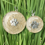 Sandy Paw Silver Charms Made in USA