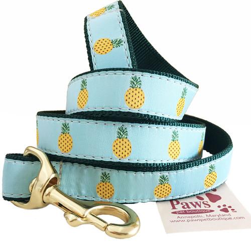 Yellow Pineapple Leash