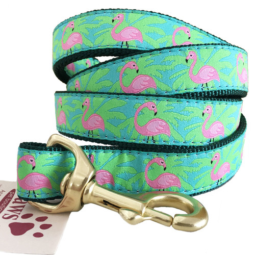Pink Flamingo Palm Leash