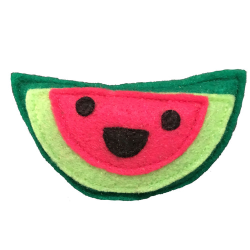 Felt Watermelon Organic Catnip Toy