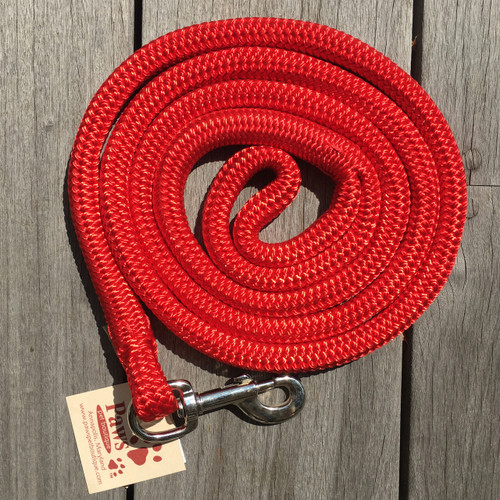 Red Rope Dog Leash