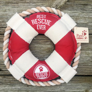 Best Rescue Ever Life Ring Dog Toy