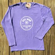 Purple Cozy Dog Mom Shirt