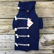 Nautical Navy Dog Sweater