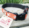 Hemp Dog Collar with Contoured Buckle