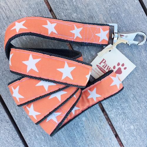 Orange Star Hemp Leash