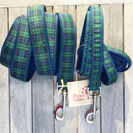 Blackwatch Plaid Dog Leashes