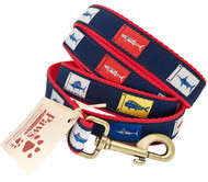 Fish Flag Dog Leash