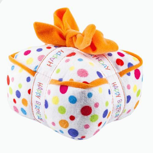 Happy Birthday Plush Dog Toy Gift