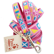 Nautical Girl Dog Leash