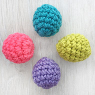 Crochet Cat Ball Toys with Bell