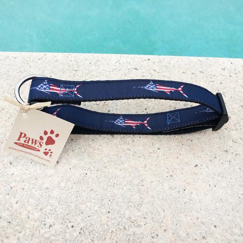 All American Fish Dog Collar
