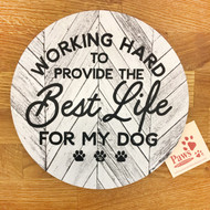 Working Hard for My Dog Mousepad