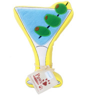 Martini Dog Toy that Floats