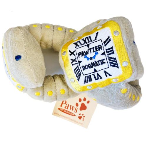 Pawtier Dogmatic Watch Dog Toys