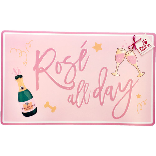 Rose All Day Pet Placemat