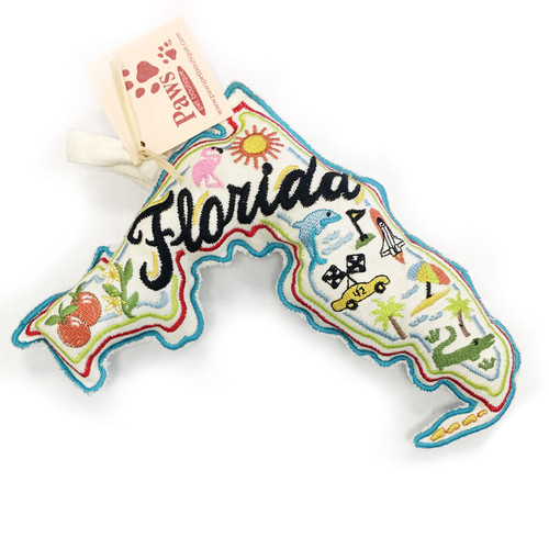 Florida State of Mind Dog Toy