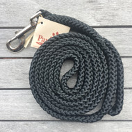 Black Boating Line Dog Leash