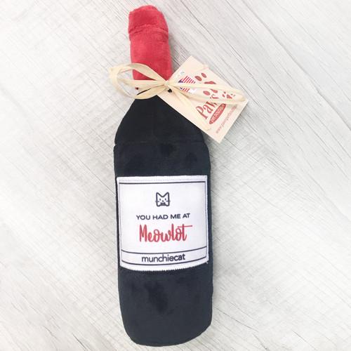 Meowlot Catnip Wine Bottle Toy