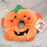 Pumpkin No-Stuffing Dog Toy
