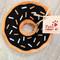 Chocolate Sprinkle Donut Dog Toy