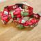 Cute Christmas Bow Tie Dog Collars