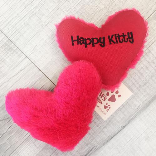 Organic Catnip Heart Toy