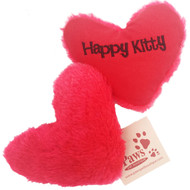 Happy Kitty Heart Catnip Toys