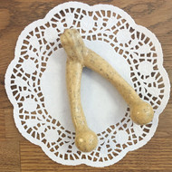 Wish Bone Dog Chew available in 3 Sizes. (Small Shown)