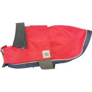 Pinkish Salmon-Colored Dog Rain Coat